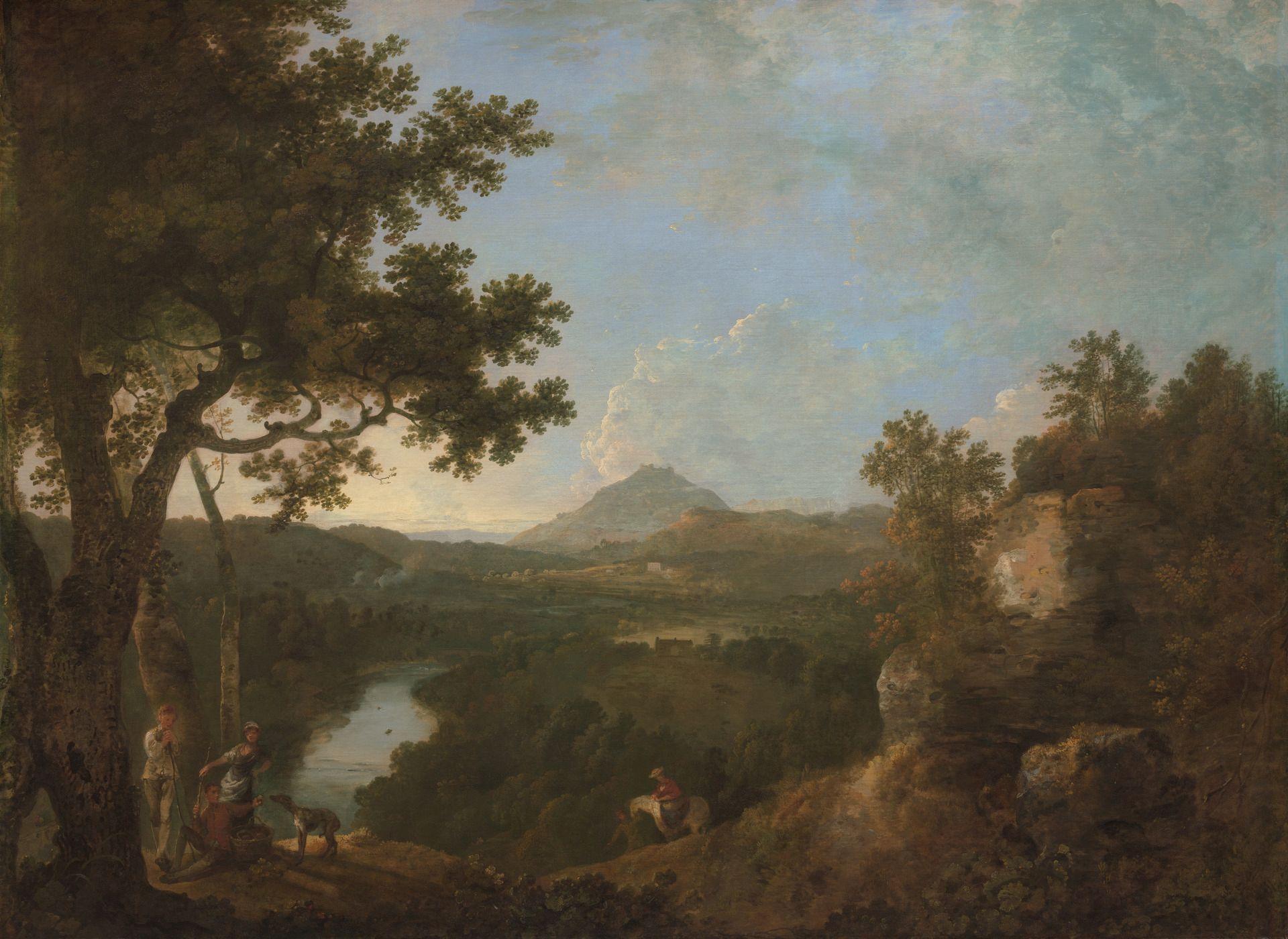 View near Wynnstay