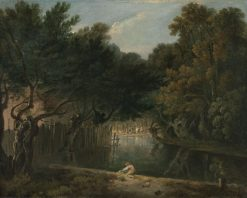 View of the Wilderness in St. James's Park | Richard Wilson