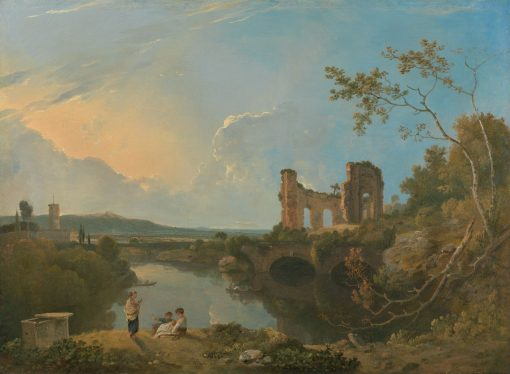 Italian Landscape (Morning)(also known as Temple of Venus