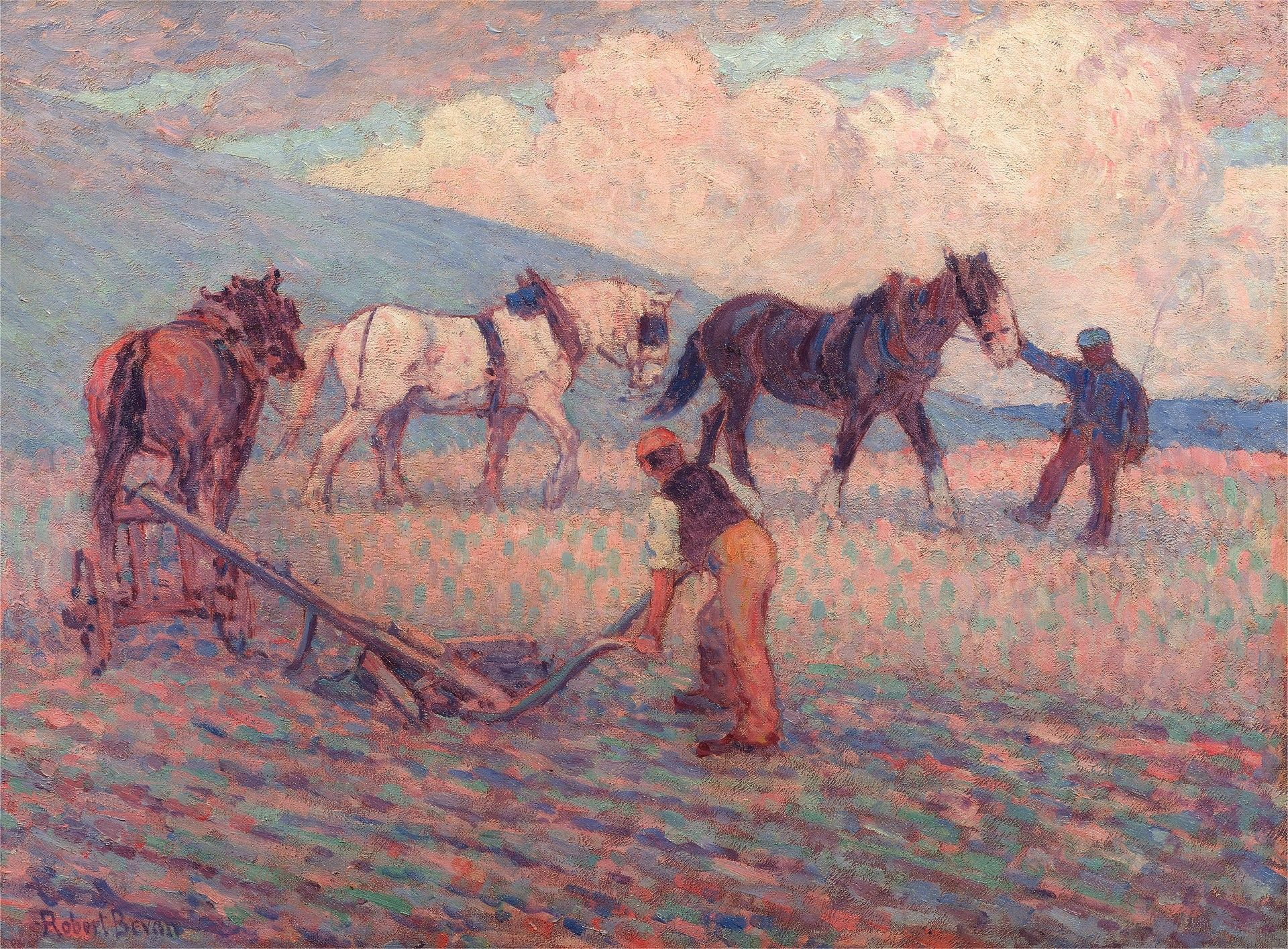 The Turn Rice-Plough