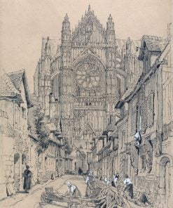 Beauvais Cathedral | Samuel Prout | Oil Painting