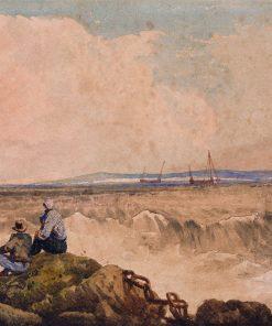 Coast Scene | Samuel Prout | Oil Painting