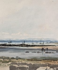 Beach Scene | Samuel Prout | Oil Painting