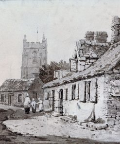 Church and Cottages | Samuel Prout | Oil Painting