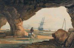 Coast Scene near Plymouth | Samuel Prout | Oil Painting