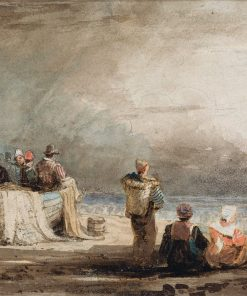 Figures on a Beach | Samuel Prout | Oil Painting