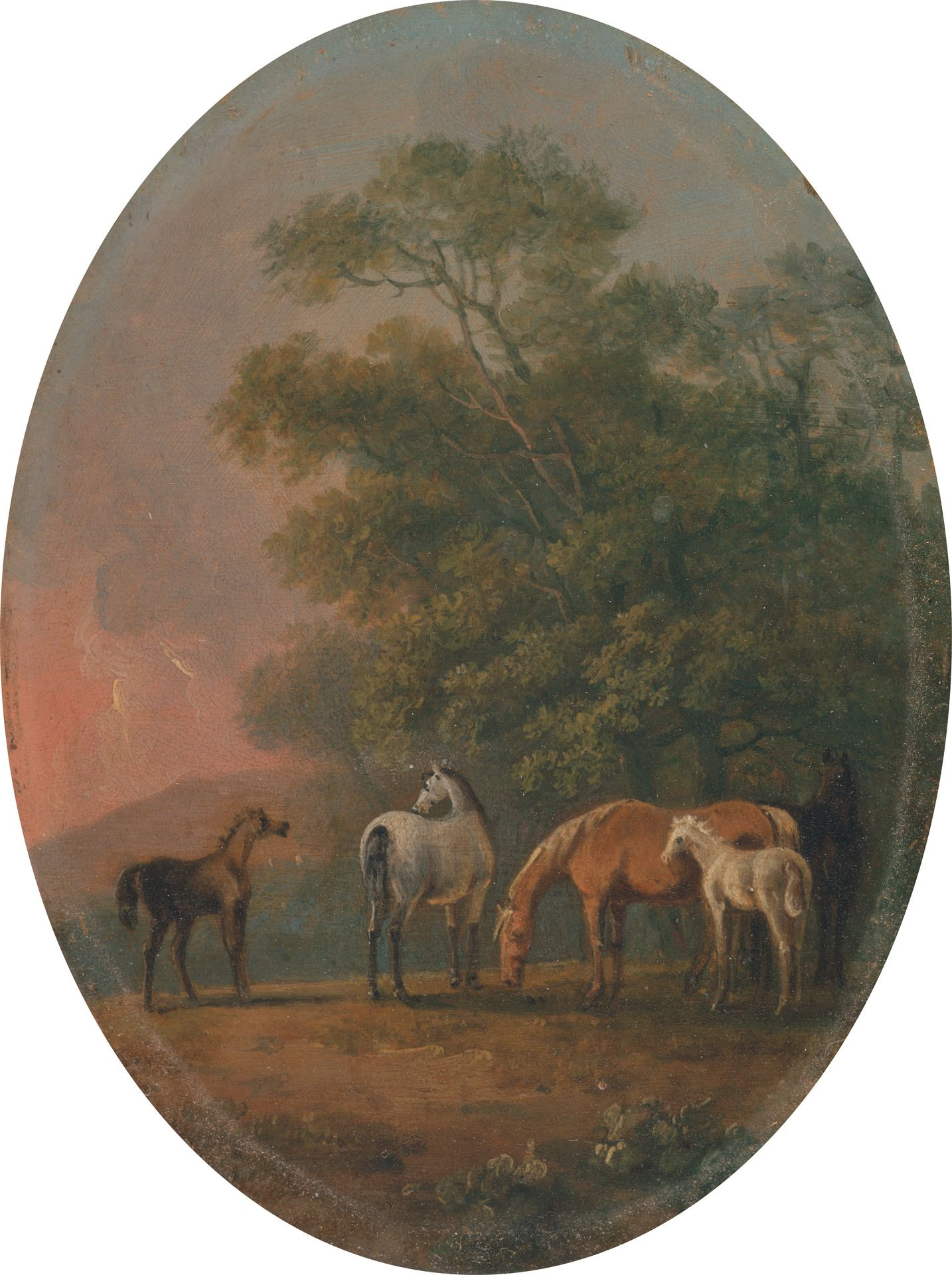 Mares and Foals | Sawrey Gilpin | Oil Painting