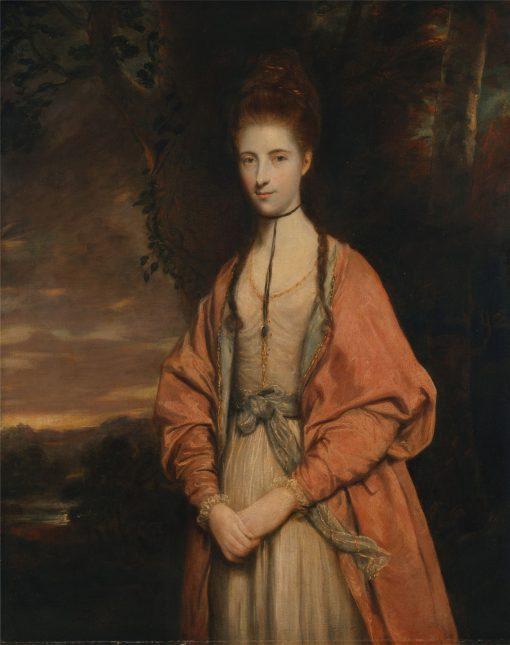 Anne Seymour Damer   Sir Joshua Reynolds   Oil Painting