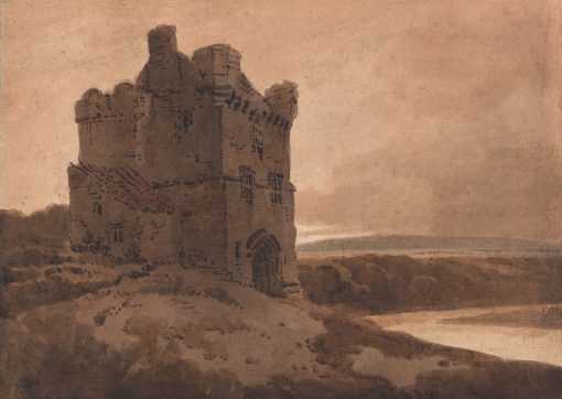 A Border Tower | Thomas Girtin | Oil Painting