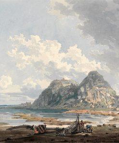 Dumbarton Rock and Castle | Thomas Girtin | Oil Painting
