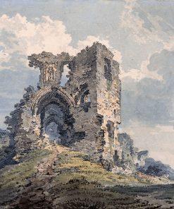 Denbigh Castle | Thomas Girtin | Oil Painting