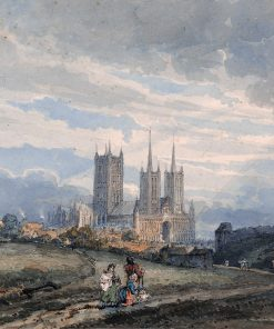 Lincoln Cathedral   Thomas Girtin   Oil Painting