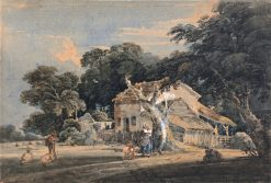 A Devonshire Farm | Thomas Girtin | Oil Painting