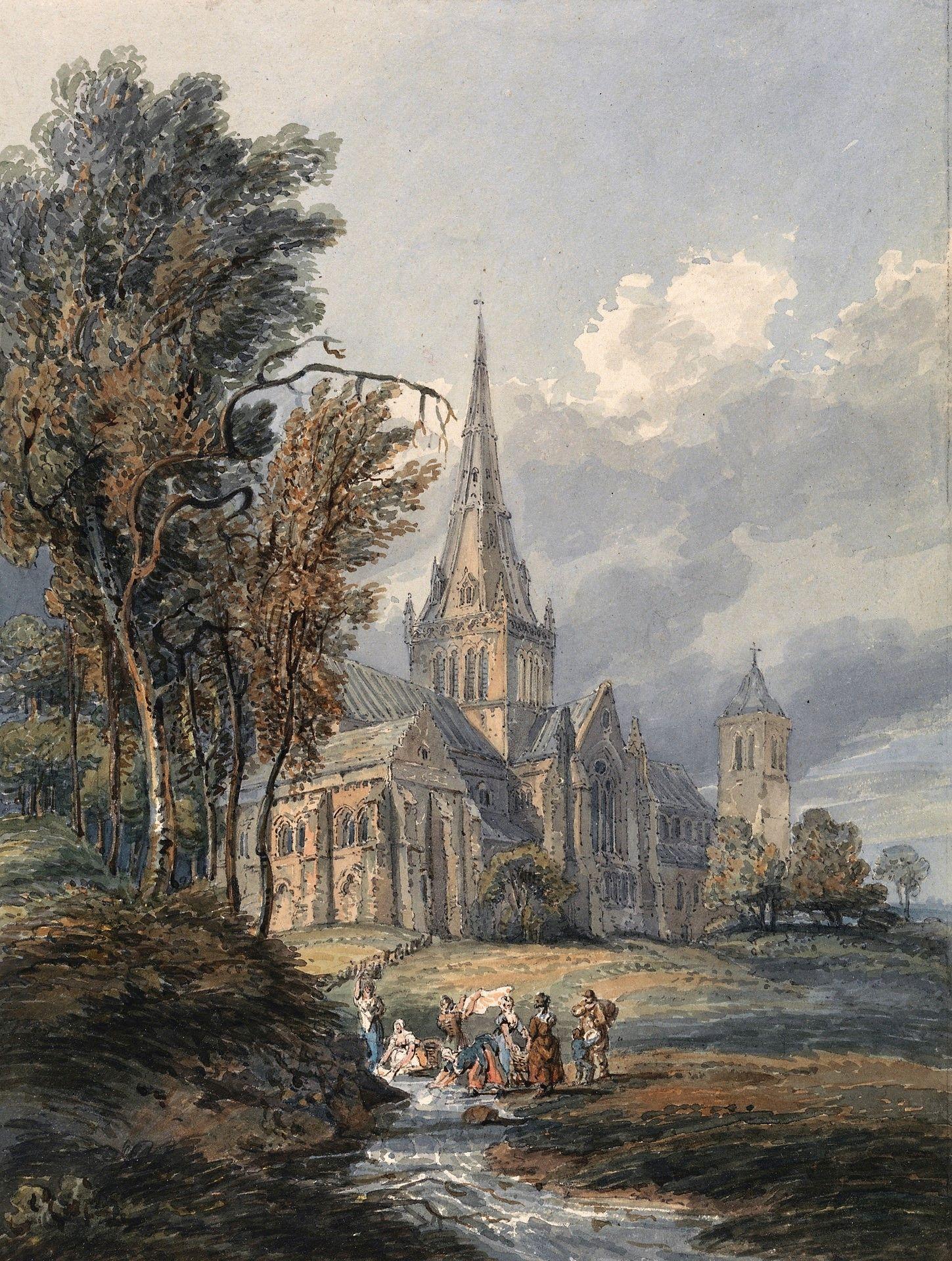Glasgow Cathedral | Thomas Girtin | Oil Painting