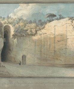 The Grotto at Posillipo | Thomas Jones | Oil Painting