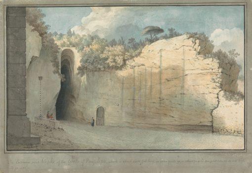 The Grotto at Posillipo | Thomas Jones | Oil Painting