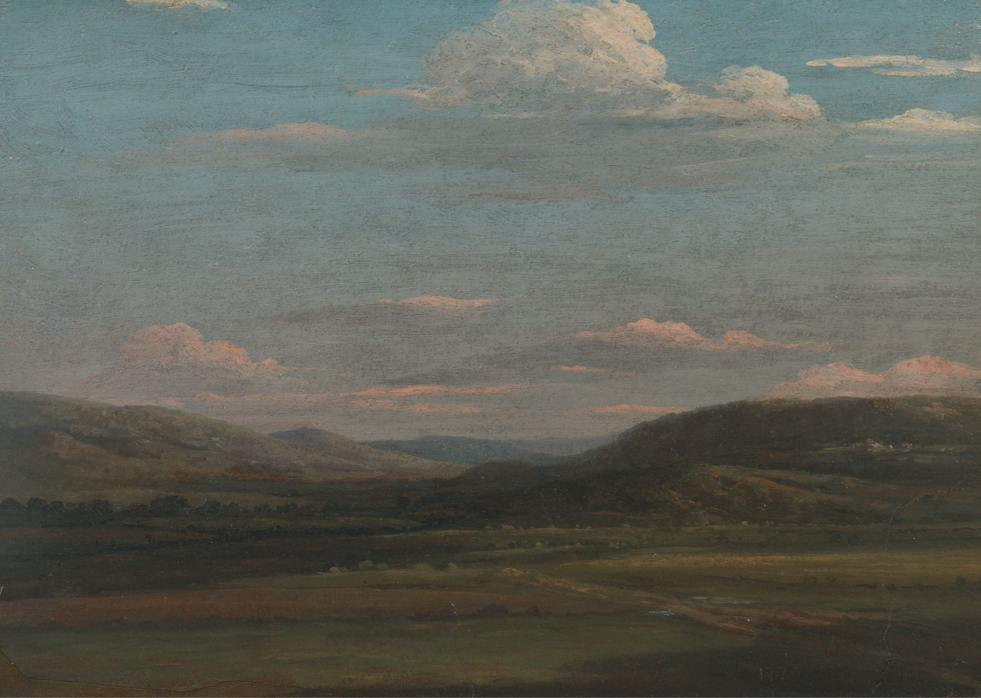 The Vale of Pencerrig | Thomas Jones | Oil Painting