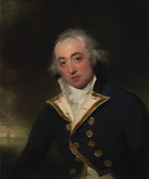 Admiral John Markham | Thomas Lawrence | Oil Painting