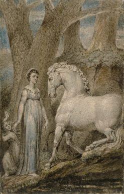 The Horse | William Blake | Oil Painting