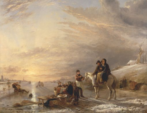 Frost Scene | William Collins | Oil Painting