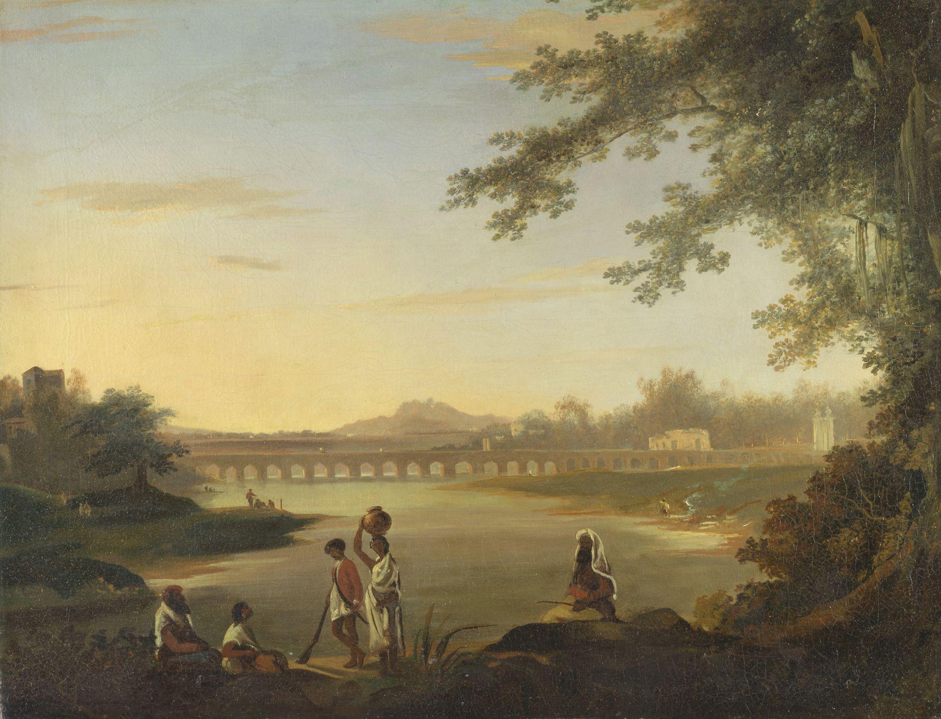 The Marmalong Bridge | William Hodges | Oil Painting