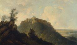 The Fort of Bidjegur | William Hodges | Oil Painting