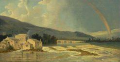 Otley Bridge on the River Wharfe | William Hodges | Oil Painting