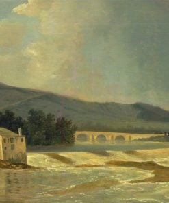 Otley Bridge on the River Wharfe | William Hodges | Oil Painting