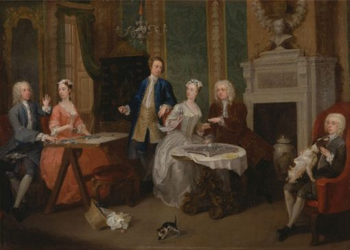 A Family Party(also known as Portrait of a Family) | William Hogarth | Oil Painting