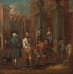 Sign for a Paviour | William Hogarth | Oil Painting