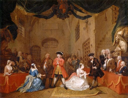 A Scene from 'The Beggar's Opera' | William Hogarth | Oil Painting