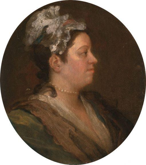 Mary Hogarth (unfinished)   William Hogarth   Oil Painting