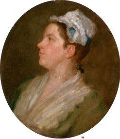 Ann Hogarth (unfinished) | William Hogarth | Oil Painting