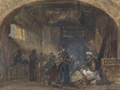 Cairo Bazaar | William James Muller | Oil Painting