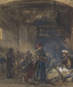 Cairo Bazaar | William James Muller | Oil Painting