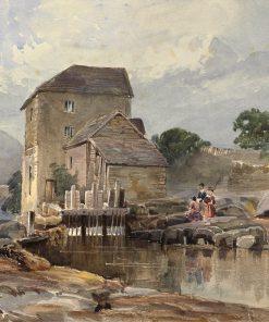 The Bridge at Llangollen | William James Muller | Oil Painting