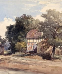 Farm Buildings | William James Muller | Oil Painting