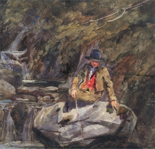 Young Fisherman | William James Muller | Oil Painting