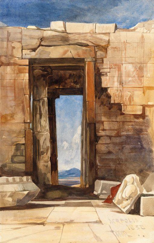 A Doorway in the Acropolis