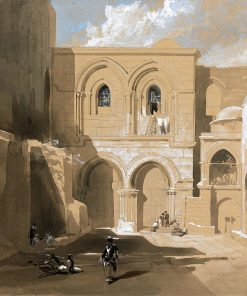 The Church of the Holy Sepulchre | William James Muller | Oil Painting