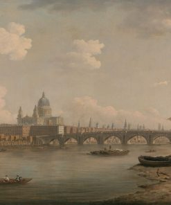 St. Paul's and Blackfriars Bridge | William Marlow | Oil Painting