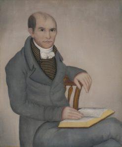 Wilbur Sherman   Ammi Phillips   Oil Painting