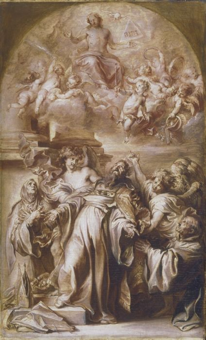 The Ecstasy of Saint Augustine | Anthony van Dyck | Oil Painting