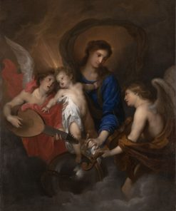 Virgin and Child with Music-Making Angels | Anthony van Dyck | Oil Painting