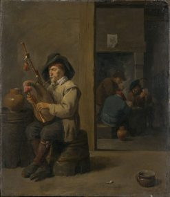 Bagpiper in an Inn | David Teniers II | Oil Painting