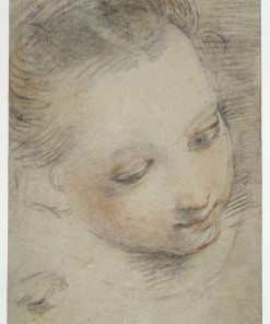 Head of a Girl (study for Madonna del Popolo) | Federico Barocci | Oil Painting
