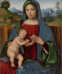 Virgin and Child(also known as The Gambaro Madonna) | Francesco Francia | Oil Painting
