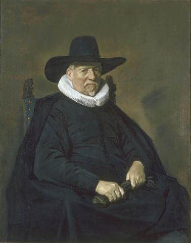De Heer Bodolphe   Frans Hals   Oil Painting