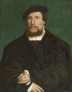 A Hanseatic Merchant | Hans Holbein the Younger | Oil Painting