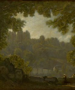 Forest Landscape | Jean Baptiste Camille Corot | Oil Painting